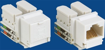 made in china  TM-8005.Cat.5E Network Data keystone jack  corporation