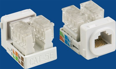 China manufacturer  TM-8103 Cat.5E Plugs Data keystone jack  factory