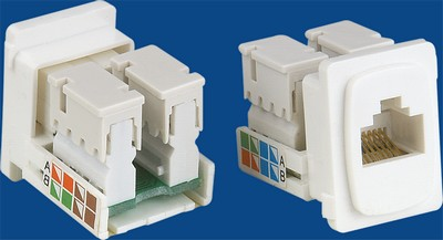 made in china  TM-8110 Rj45 Connecto Cat.5E Nerwork Data keystone jack  company